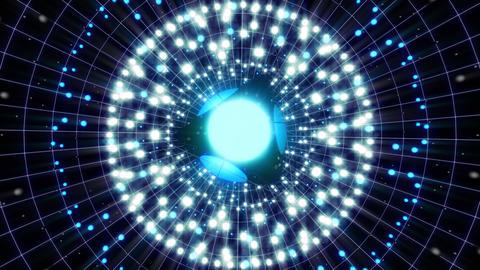 VJ Loops Color Energy Spheres 4K