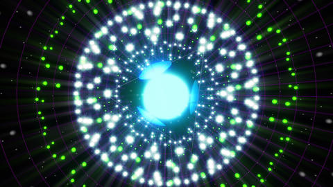 VJ Loops Color Energy Spheres 0