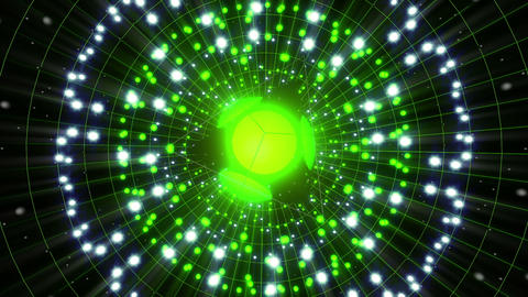 VJ Loops Color Energy Spheres 1