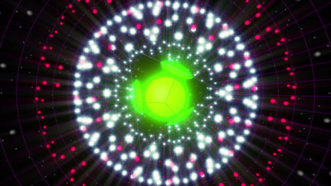 VJ Loops Color Energy Spheres 2