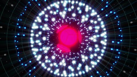 Pink Energy Sphere VJ Loop 2 Animation