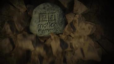 Breaking Rock Logo Reveal After Effects Template