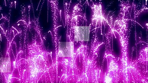 Grunge Fireworks 2 Animation