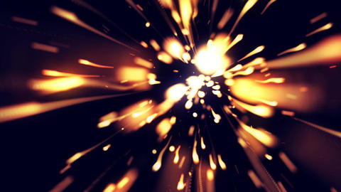 High Speed Light Trails 1– Loopable Background Animation
