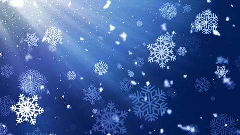 Holiday Snowflake Dark 1 Animation