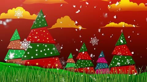 Retro Christmas 1 Animation