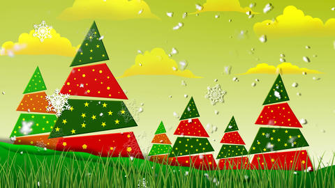 Retro Christmas 2 Animation