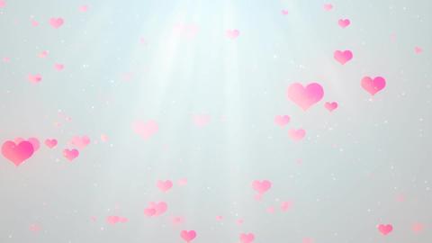 Romantic Hearts 3 Stock Video Footage