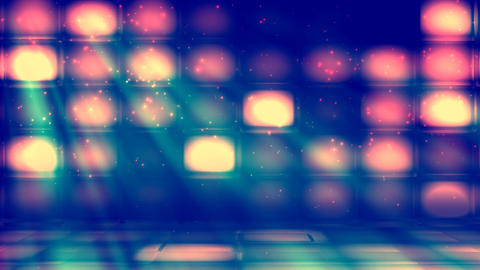 VJ Dance Stage 2 stock footage