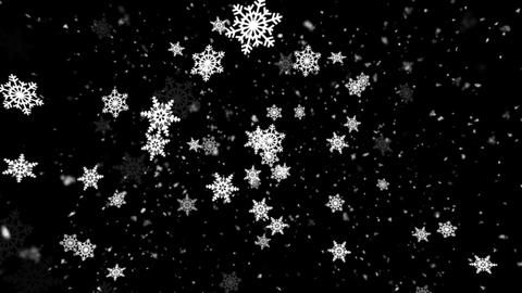 Winter Snow and Snow Flakes 2 Animation