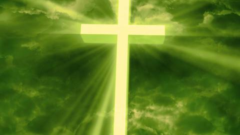 Worship Religious God Rays 2 stock footage
