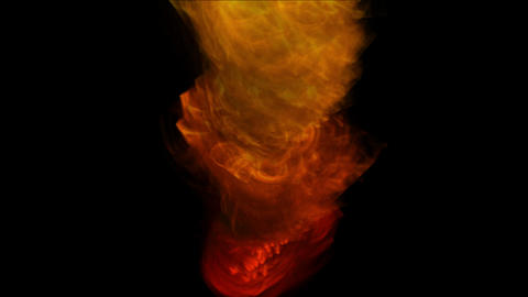 4k Hot Fire burning background,Abstract powerful particle smoke power energy Footage