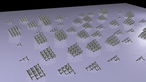 Sliver cubic array 2 Animation