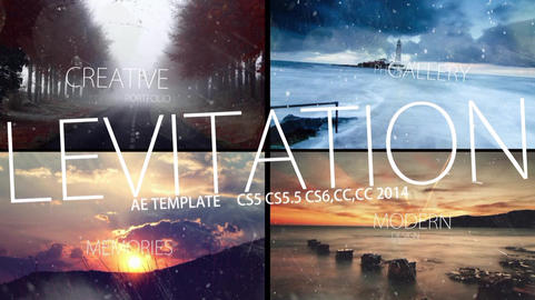 Levitation After Effects Template