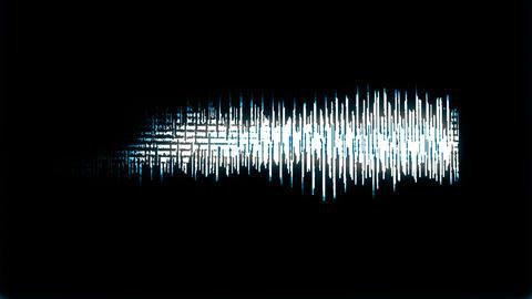 Waveform loop_3 Footage