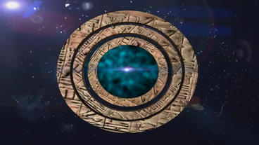 intro stargate in the universe After Effects Project