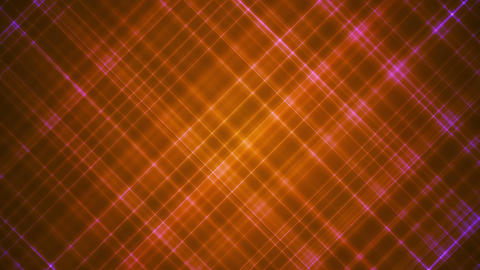 Broadcast Intersecting Hi-Tech Slant Lines, Orange, Abstract, Loopable, HD Animation