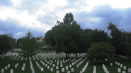 Arlington National Cemetery Time-Lapse stock footage