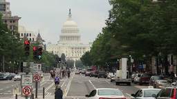 Washington D.C. Capitol Building 1 stock footage