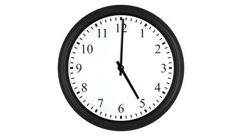 Clock timelapse animation loop 4K Animation