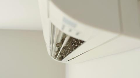 Air conditioner on wall ライブ動画