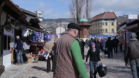 Old Town, Sarajevo Footage