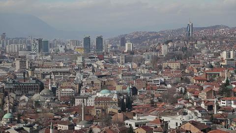 Sarajevo view Footage