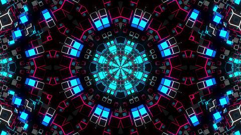 VJ Loops Color Kaleidoscope