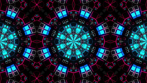 VJ Loop Kaleidoscope 03 Animation