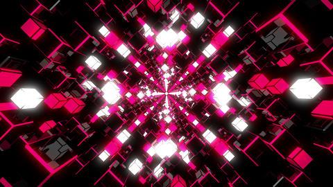 VJ Loop Pink Tunnel stock footage