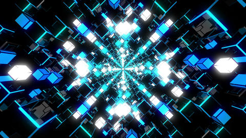 VJ Loops Color Tunnels 2