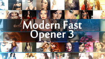 Modern Fast Opener 3 Plantilla de After Effects