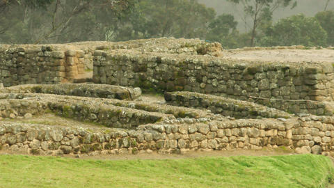 Inca Civilization Ruins At Ingapirca Live Action