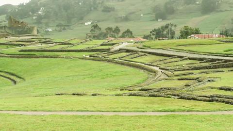 Popular Touristic Destination At Ingapirca Ruins Ecuador stock footage