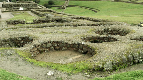 Ingapirca Archeological Site Ruins In Ecuador Live Action