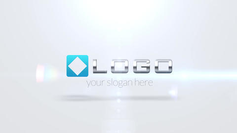 Elegant Corporate Logo Stylish Light 3 D Elements Fotmation After Effects Template