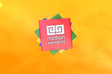 3D Colorful logo After Effects Project