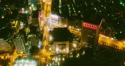 Timelapse View Of Taipei City. 4K 影片素材