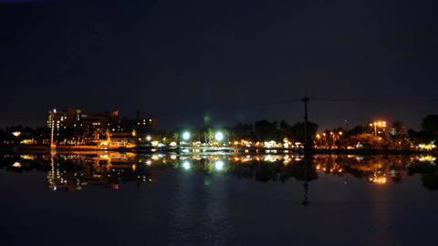 Indonesia Jakarta Ancol Beach View From Ocean Footage