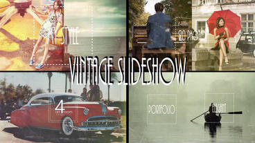 Vintage Slideshow After Effects Template