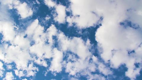 Cloudscape Timelapse 1 stock footage