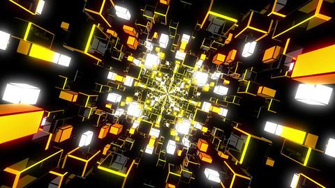 VJ Loops Color Rotating Tunnels 1