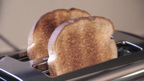 Toaster Toasting Toast Footage