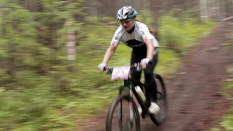 Cross Country 24 stock footage