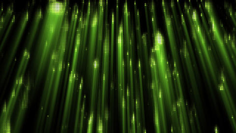 Green light effects Animation