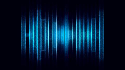 Blue sound effect Animation