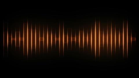 Orange audio effects Animation