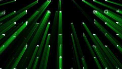Green bright lights Animation