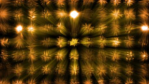 Orange light effects Animation