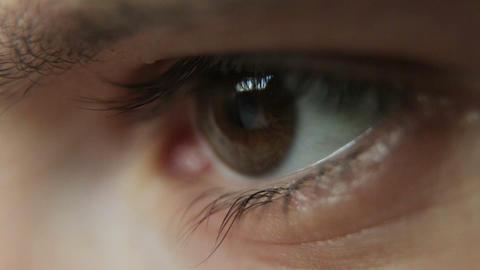 Closeup Shot Of Boy Eye 06 Footage